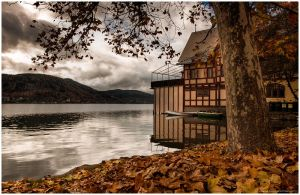 boathouse in november II by zero-