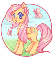 Fluttershy by Churobu