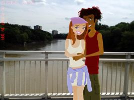 Two On The Town (Humid Day, Warm Hearts) by daanton