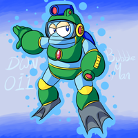 Bubble Man by Aruesso