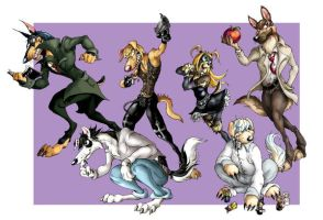 Death Note Dogs by chalicothe by AnimeCanineClub