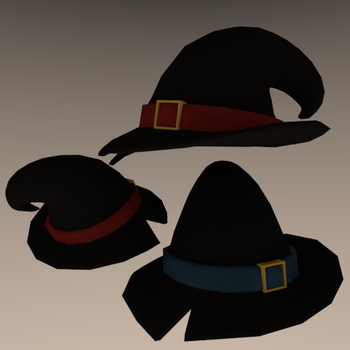 Demoman Witch's Hat by Autonomous-Ink