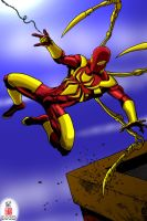 The Iron Spider-Man by Dhencod