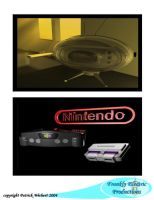 70s tv set and nintendo by WolfsEye157