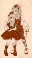 Alice and the pirates sisters by DarkDevi