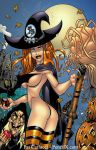 Witchbabe and the old Hag by PatCarlucci