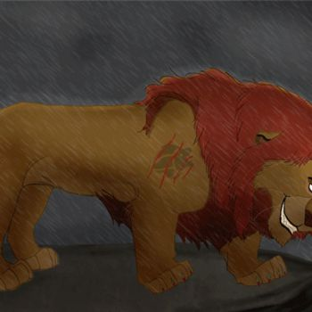 Evil Kion GIF by coolrat