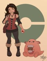 Chillin' with Chansey by Chansey123