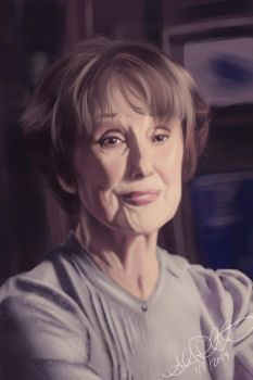 Mrs. Hudson by Eeddey