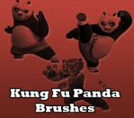 Kung Fu Panda Brushes by remygraphics