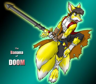 Banana Pose of Doom by catmonkShiro