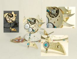 Steampunk Keyblade Pendant Necklace by Henri-1