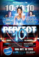 Perfect 10 Flyer by AnotherBcreation