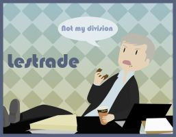 Sherlock - Lestrade - Not my division by Bisho-s