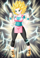 Artwork: SSJ Reclaine by jadenkaiba