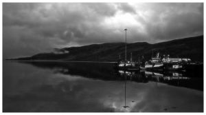 Ullapool harbour. by Project-Firefly