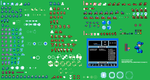 Custom MegaMan Sprite Sheet by Availation