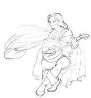 Male Bard by Estfahan