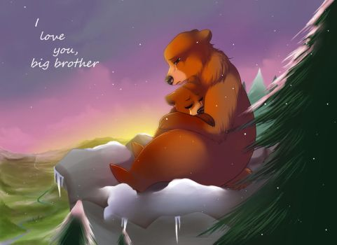 Brother Bear by Jacky-Bunny