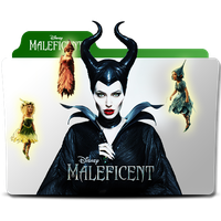 Meleficent folder icon by Andreas86