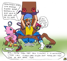 Digimon Tickle By Dashadyalien by neverb4