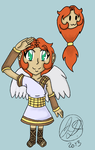 Kid Icarus FC Angelina by ChibiKirbylover
