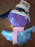 Violet Squid Plush. CUSTOM :D by Kieri96