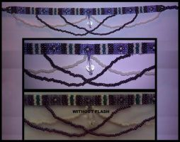 Daughter Laura's Necklace - Beaded Loom by Creafted-DreamScapes