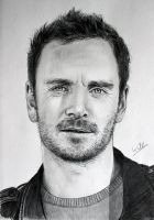 Michael Fassbender by williamerhel