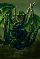Swamp Moster by Wuxy
