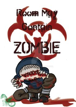 Zombie Sign by Lil1Dragon