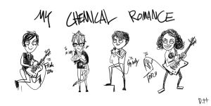 MCR doodle by Drivinghead