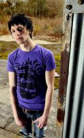 Purple Pirate Ship Tee by DeathByDesign06