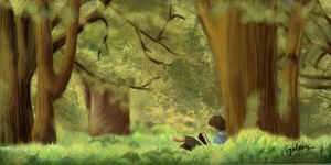Frodo of The Shire by wickedjelly