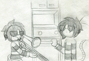 When Ellie Isn't Home by PuccaFanGirl
