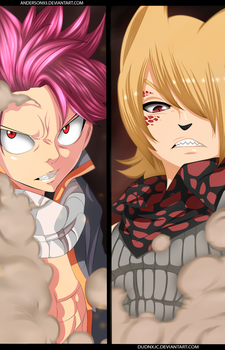 Fairy Tail  - Natsu Vs Jackal  - Collab by Anderson93