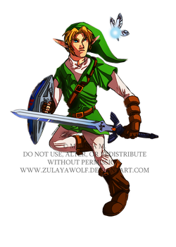 OoT Link by ZulayaWolf