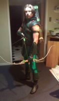 Green Arrow-Almost Finished by Gotham-Knight