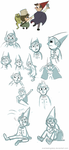 More OtGW Sketches. by EverlastingDerp