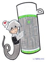 DP: Danny+Thermos Love? by MilleniumFoxMagician