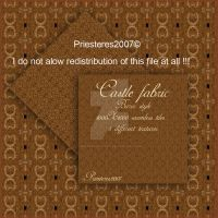 castle fabric by priesteres-stock