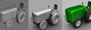 50 minute Tractor by Dionicio