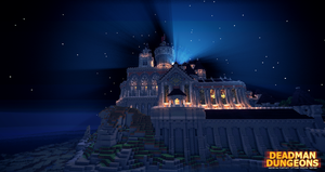 The Eldorian Empire Palace Side Veiw by Galactic-Muffin