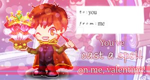 Fantage - Orion Valentine's Day Card by Fario-P