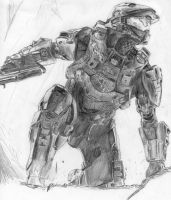 Halo 4: The Chief Returns by MJ709