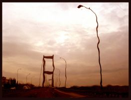 Surreal lamps of Istanbul by azzza