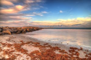 Jetty Park near sunset HDR by TabithaS-Photography