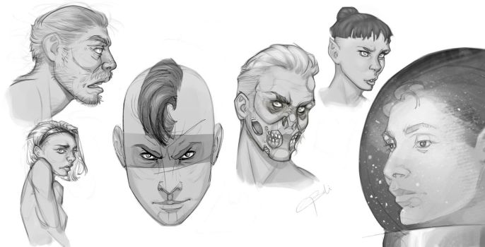 Drawing faces! by devBabar
