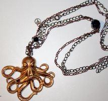 Monster of the Deep Necklace by prettylemur