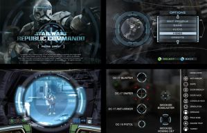 Republic Commando UI by paulrandpierce